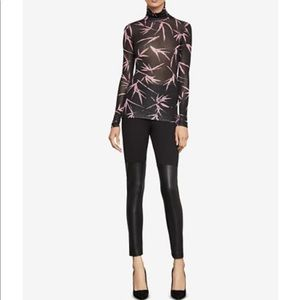 Bcbg bamboo print turtleneck - new without tags